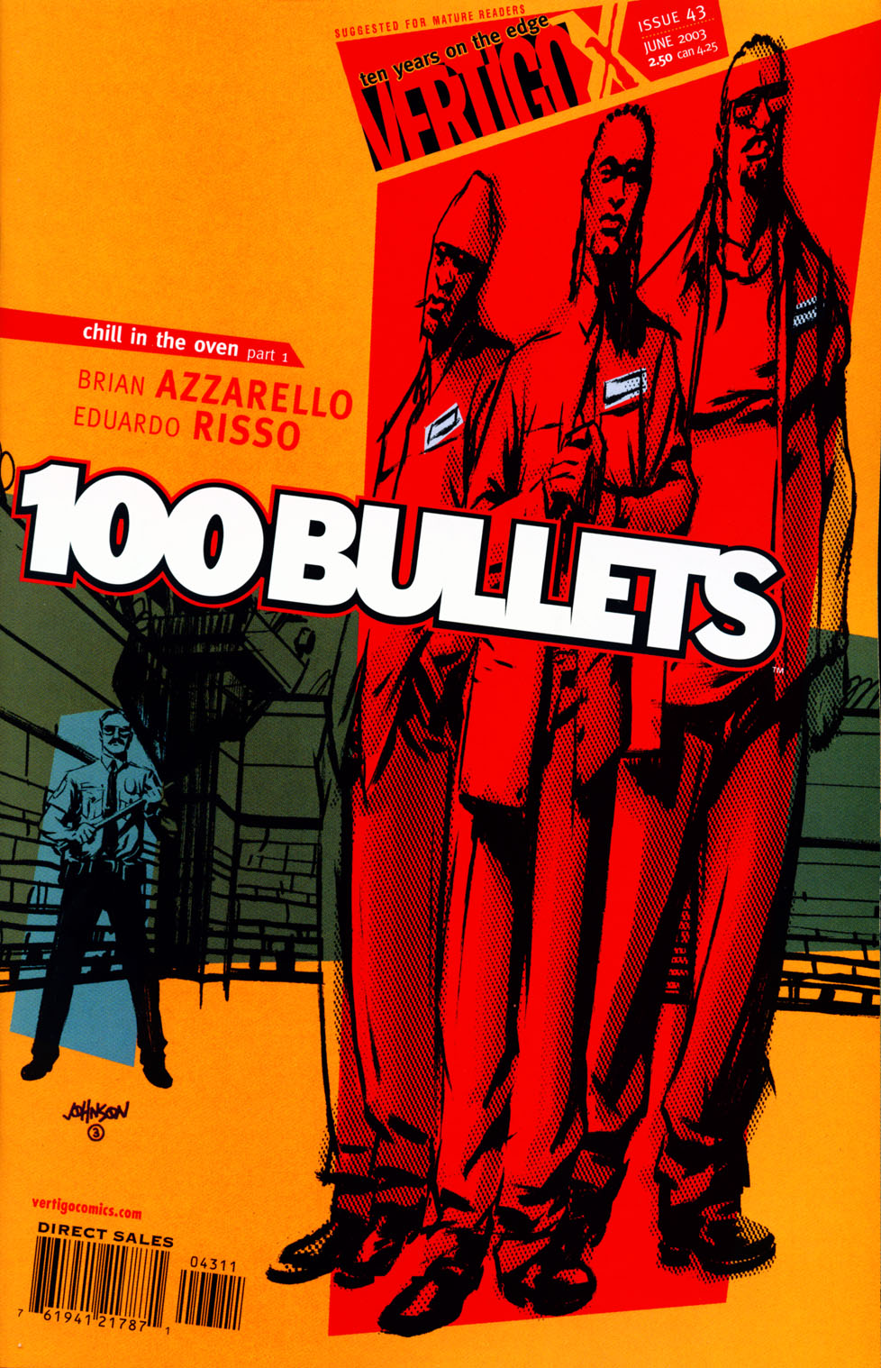 Read online 100 Bullets comic -  Issue #43 - 1