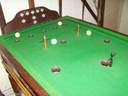 The Ham And Egger Files Bar Billiards In Baldock Knebworth - Pool table with pegs