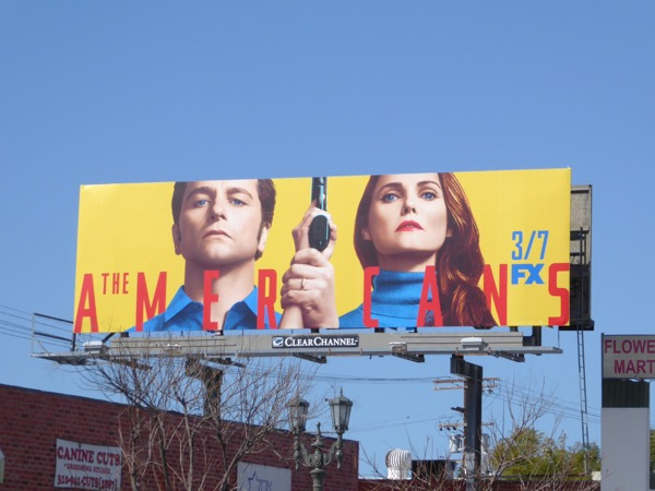The Americans season 5 billboard