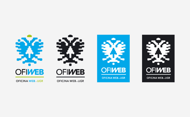 Versiones de color de un logotipo
