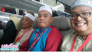 umrah pertama, pengalam umrah, pdc travel, umrah bersama pdc travel, saudi airline