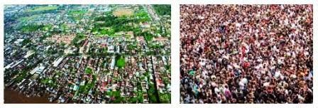 Kondisi penduduk di suatu negara sangat besar pengaruhnya terhadap pembangunan nasional Jumlah dan Pertumbuhan Penduduk