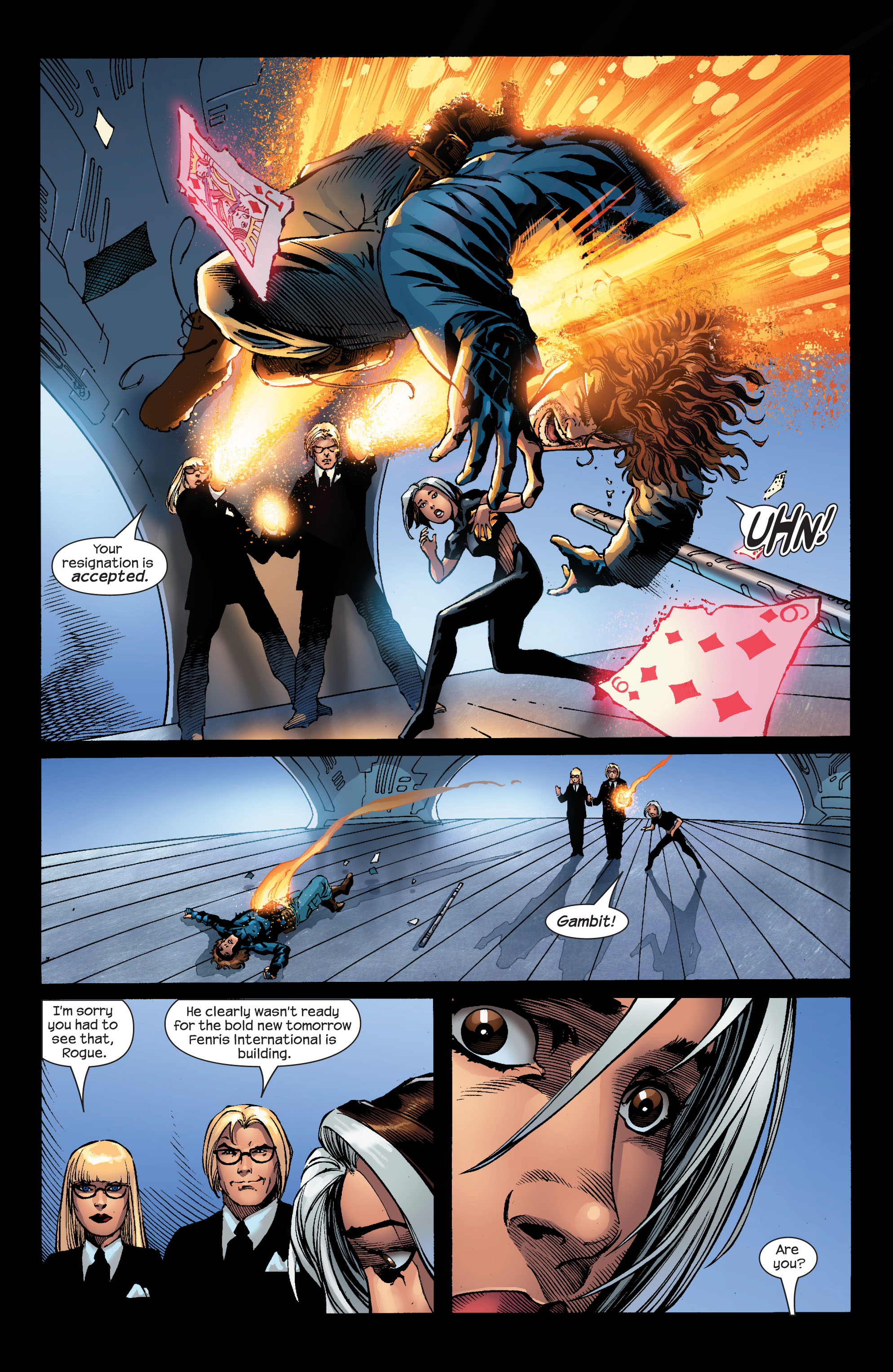 Read online Ultimate X-Men comic -  Issue #52 - 18