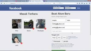 Kumpulan List Akun Fb Facebook Gratis Indonesia Terbaru Bisnis Online Gratis
