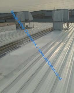 perbaikan metal roof