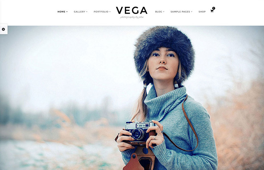 Photography Portfolio Gallery | Vega Theme