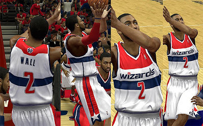 NBA 2K13 Washington Wizards Home Jersey Patch