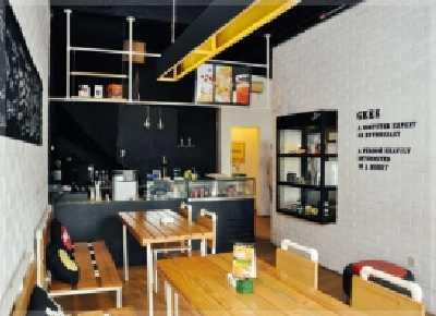 Ide Buat Desain Interior Cafe Kecil  di Rumah Ruko