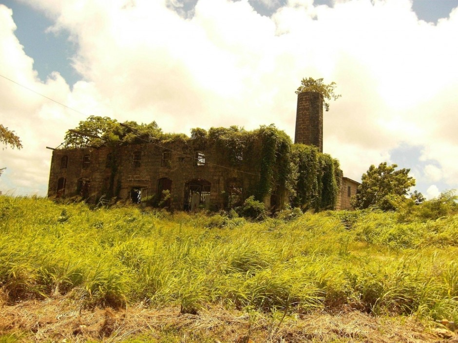 Abandoned distillery, Barbados - 30 Abandoned Places that Look Truly Beautiful