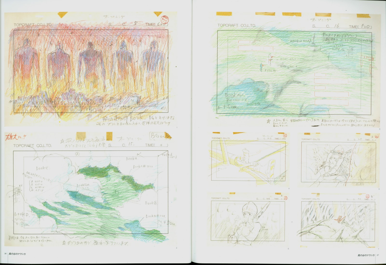 Nausicaa Of The Valley Of The Wind Map.Living Lines Library 風の谷のナウシカ Nausicaa Of The Valley Of
