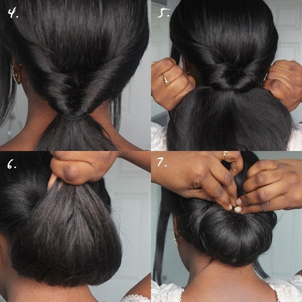 Wedding Hair Style Weave: Special Occasion Hair Tutorial: Low Bun With A Twist!