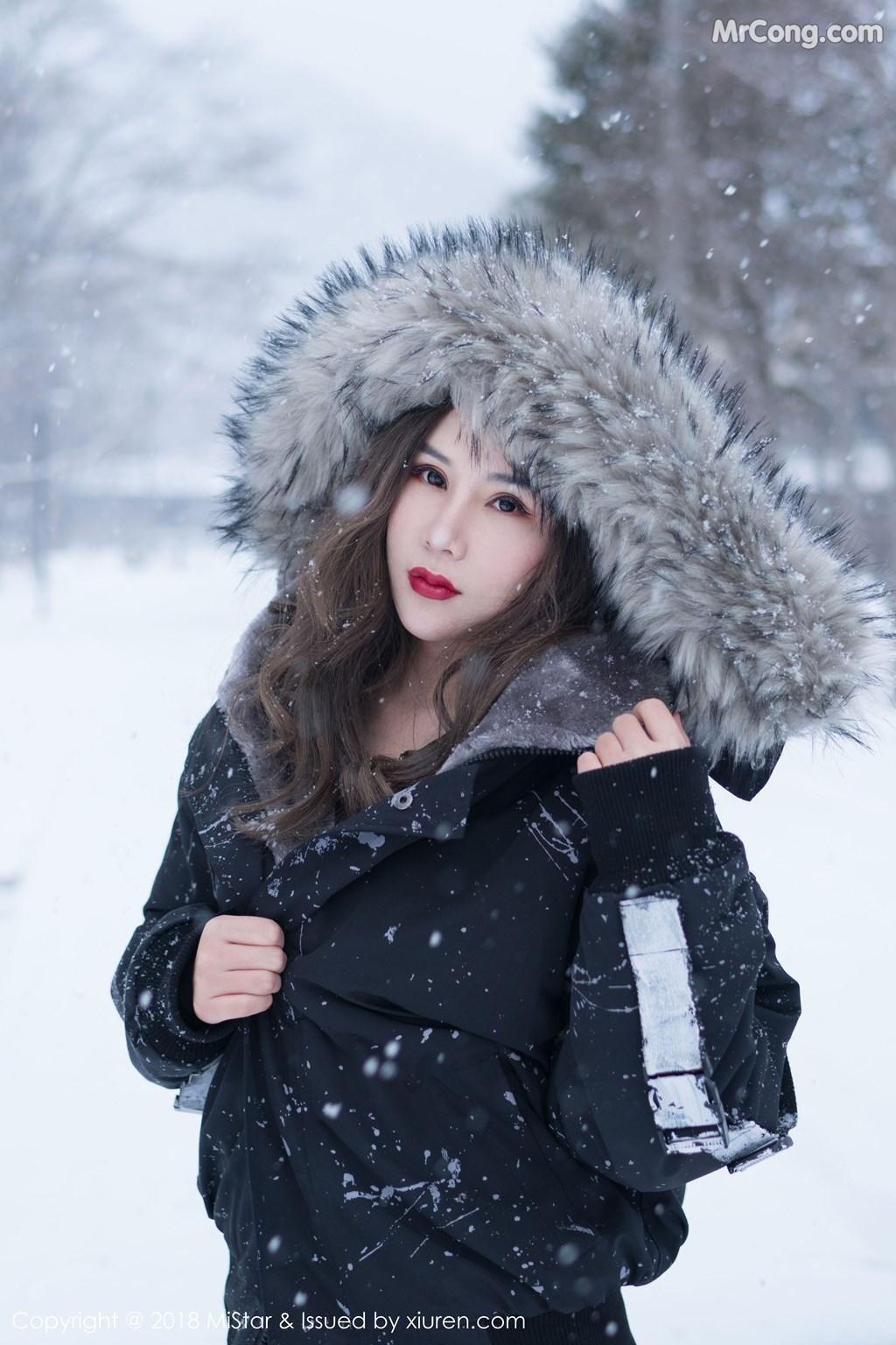 MiStar Vol.212: Người mẫu 大奶昔Kyra (41 ảnh)