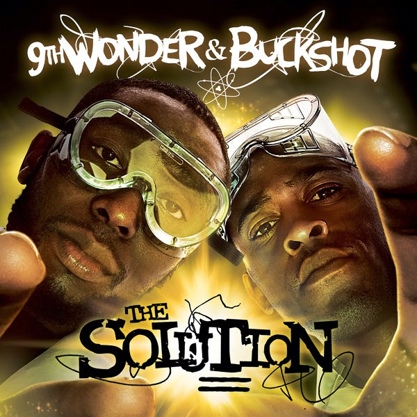 9th Wonder & Buckshot - The Solution Cover
