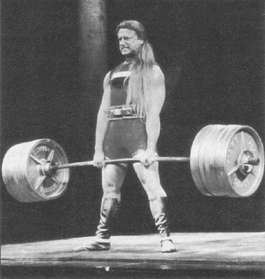 Amateur power lifting share your