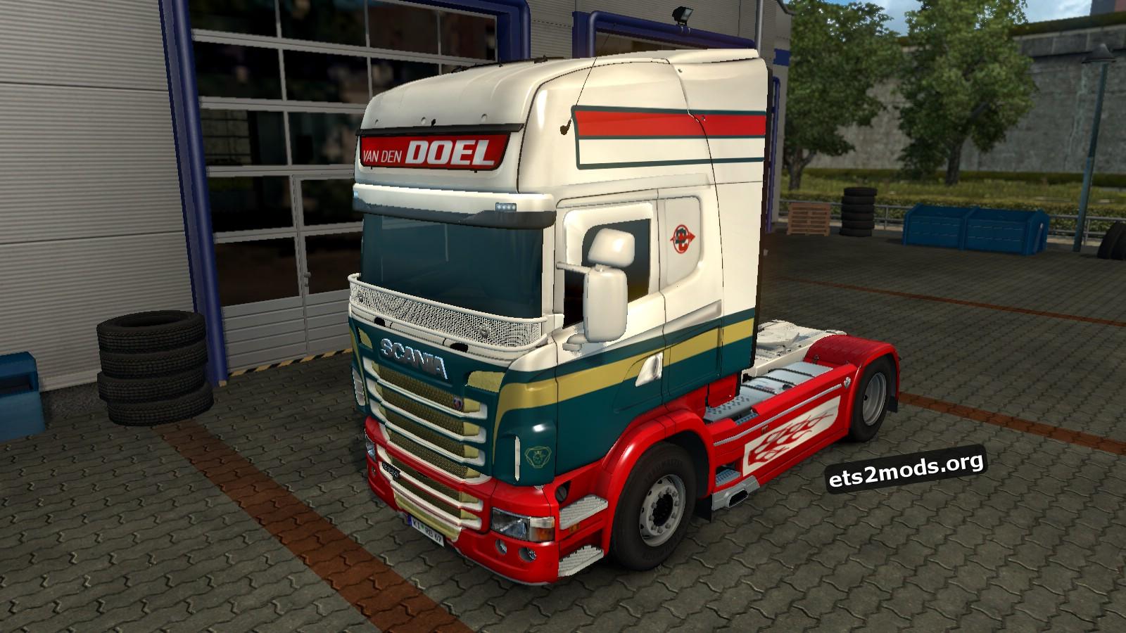 Scania RJL Van den Doel Int. Transport Skin