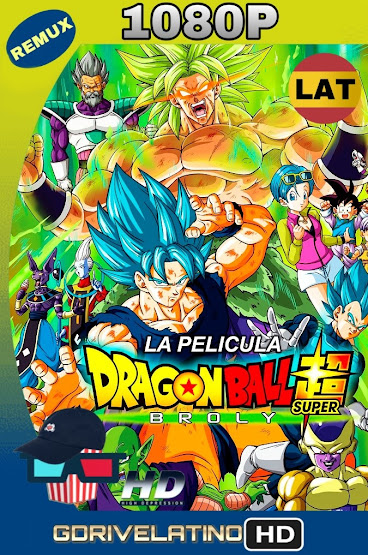Dragon Ball Super: Broly (2018) BDRemux 1080p Latino-Ingles MKV