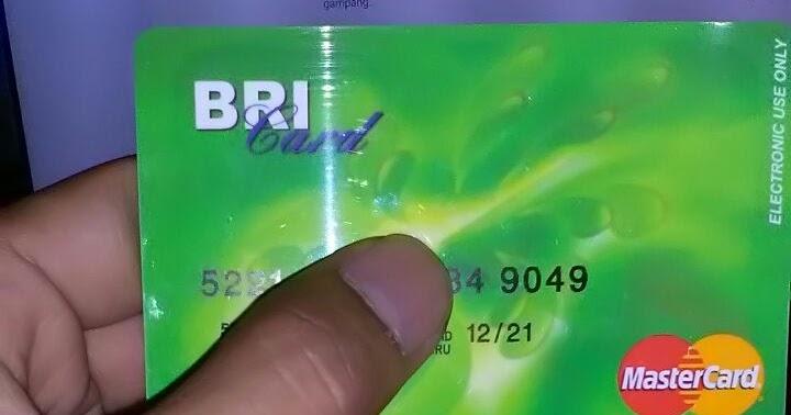 Syarat buka rekening bank bri