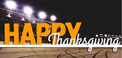 Happy #NASCAR Thanksgiving Tweets