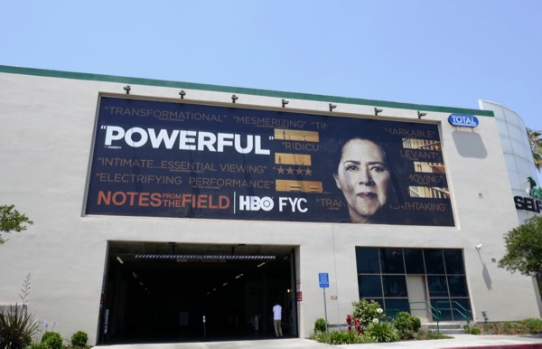 Notes from the Field Powerful HBO Emmy FYC billboard