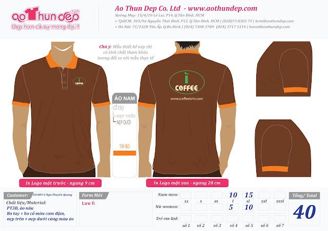 Đồng phục icoffee