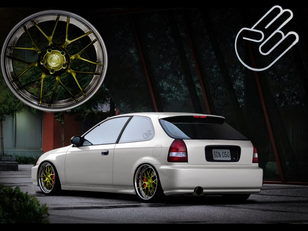 JDM Wallpaper Honda Civic HB | JDM Japanese Domestic ...