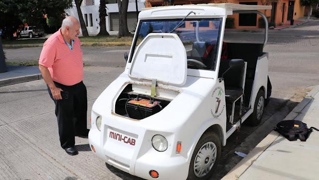 Mexicanos crean coche de energía solar, la revolución del transporte en Oaxaca