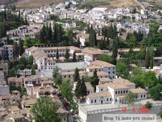 Albaicín visto da Alhambra