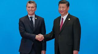 En China Macri con el presidente del país asiático