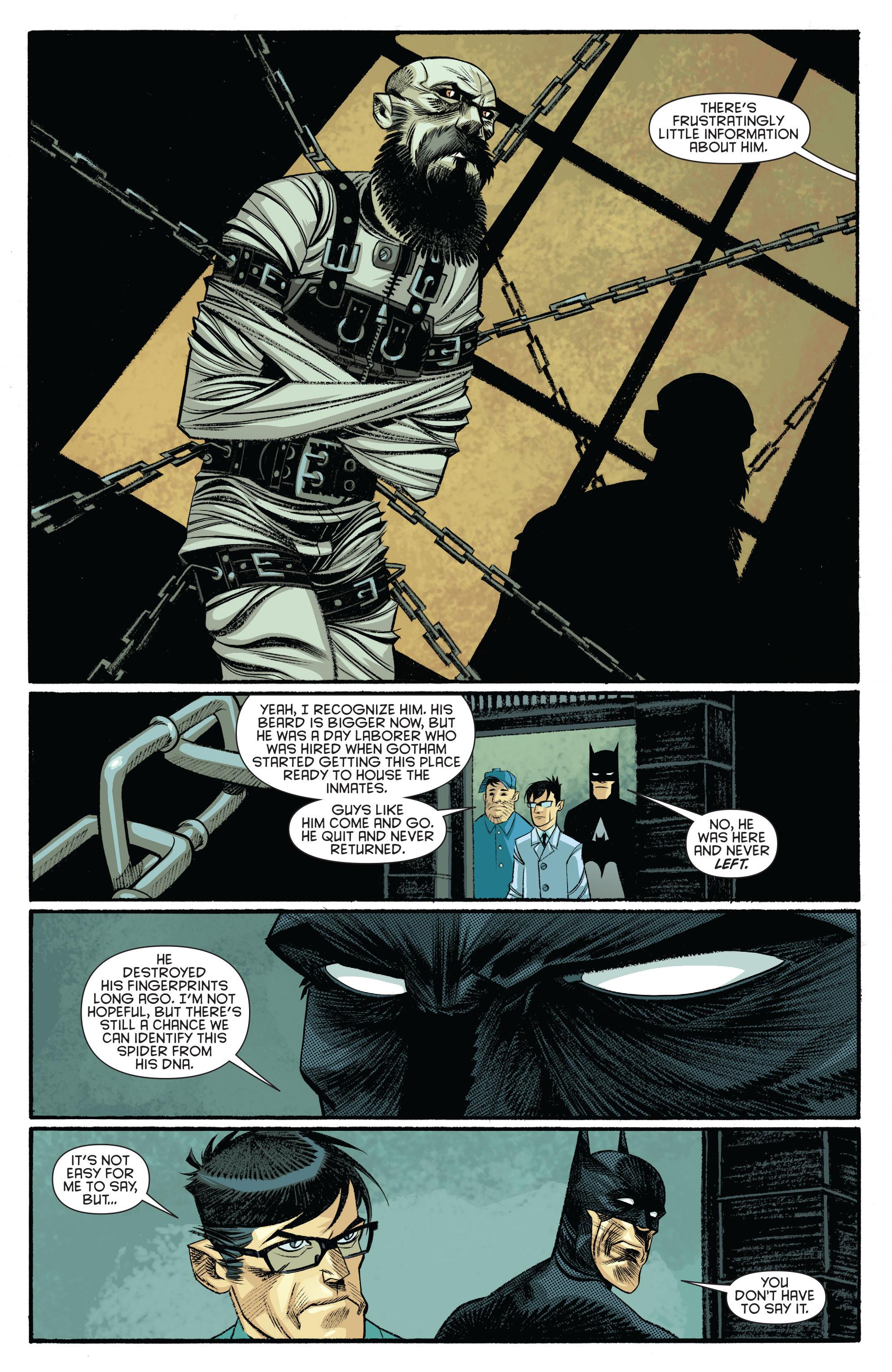 Read online Arkham Manor comic -  Issue #5 - 14