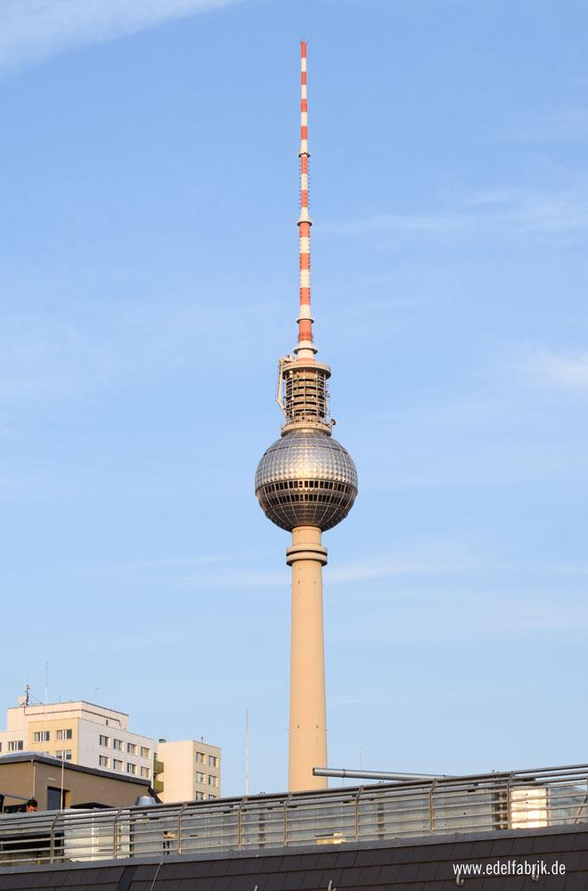 Ausblick über Berlin vom Monbijou Hotel