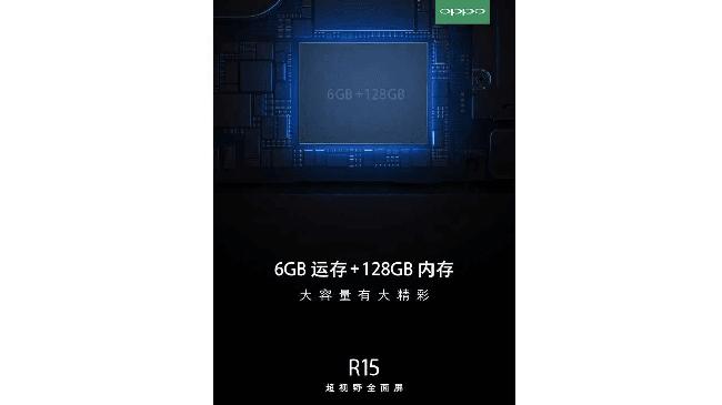 OPPO R15, Mirip iPhone X Dengan Storage Jumbo