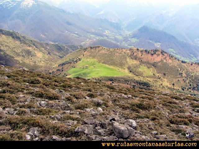 Ruta Retriñon: Bajando a la majada Tabierna