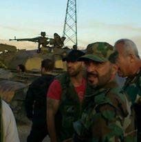 Άρμα μάχης της Liwa Usad al-Hussein