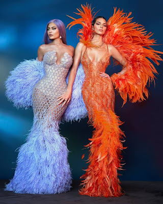 Kendall and Kylie Jenner at the 2019 #MetGala