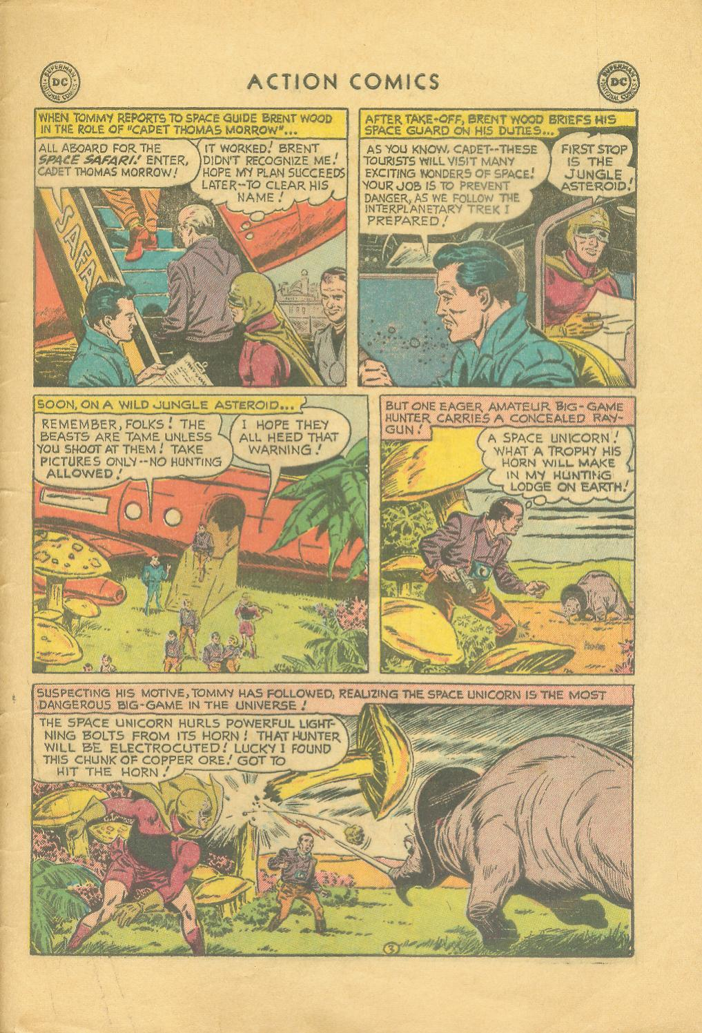 Read online Action Comics (1938) comic -  Issue #216 - 30