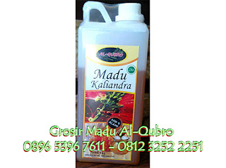 Madu Asli atau Murni Nectar Kaliandra | Madu Asli Al Qubro Kaliandra 1 KG | 0896 5396 7611