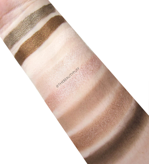jordana made to last mineral fusion swatches - the beauty puff