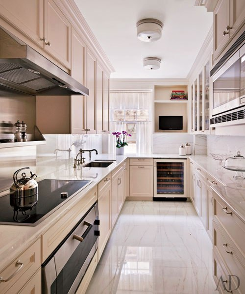Kitchen Designs For Apartments: Manhattan Apartment In The Pierre Hotel
