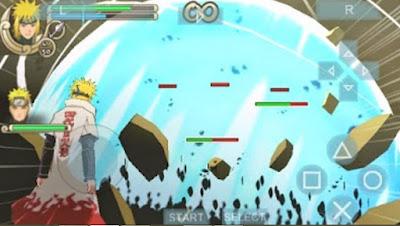 Naruto Shippuden Ultimate Ninja Impact CSO Konvert size kecil