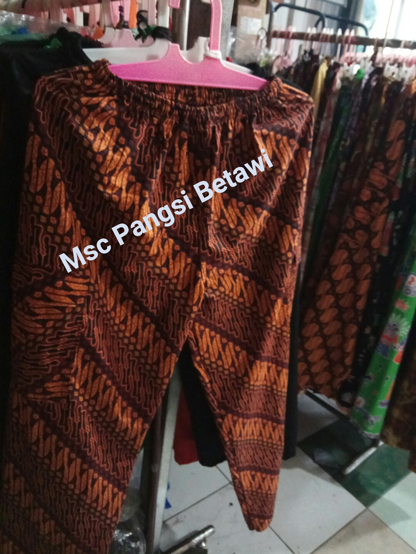 Celana Batik Di Msc Pangsi Betawi Celana Pangsi