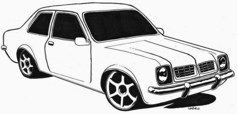 Carros Antigos Chevette Desenhos Frozen Galinha Pintadinha Colorir