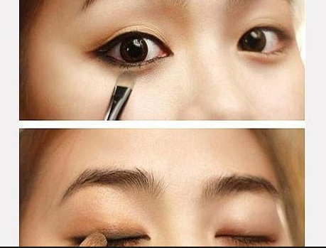 Cara Make-Up Eye Shadow Mata Sipit