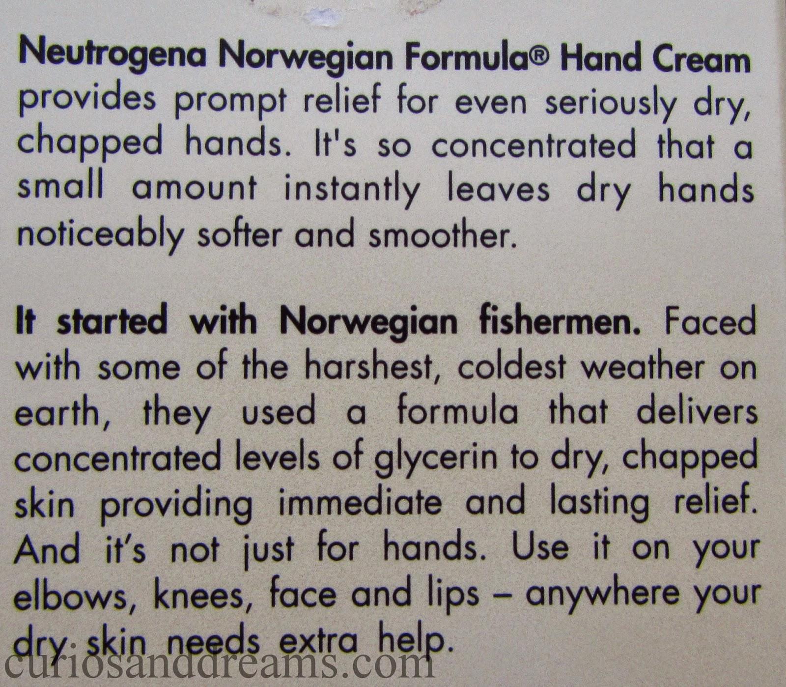 Neutrogena Norwegian Formula Hand Cream review, Neutrogena Hand Cream review