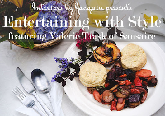 Entertaining with Style: featuring Valerie Trask of Sansaire cooking brand