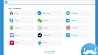 Usa Whatsapp, Messenger, Skype e altre chat insieme su PC