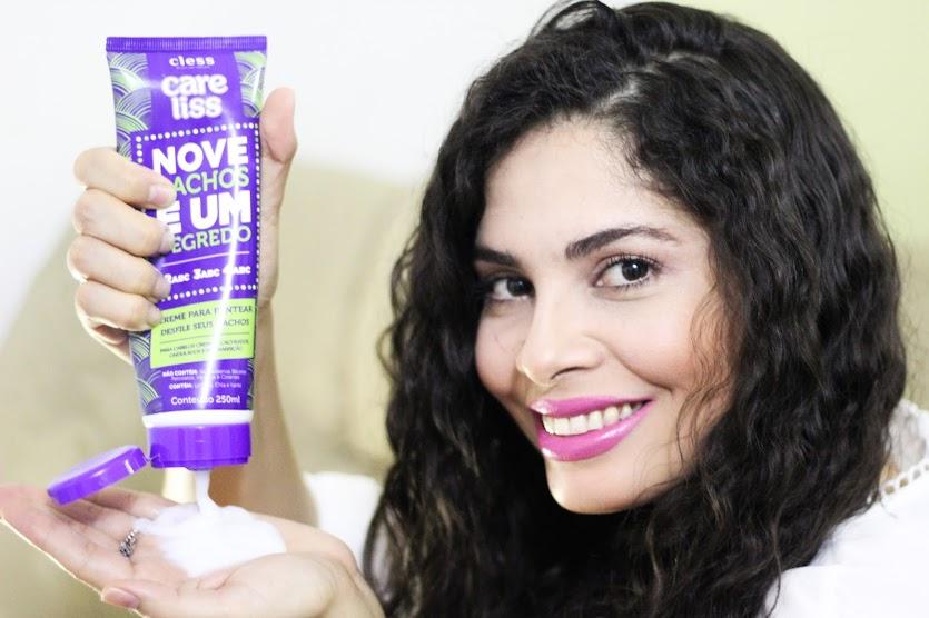 NOVE CACHOS E UM SEGREDO CARE LISS | Kamila Rios