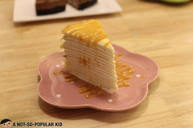 Vanilla Crepe Cake Nikko's Baking Studio