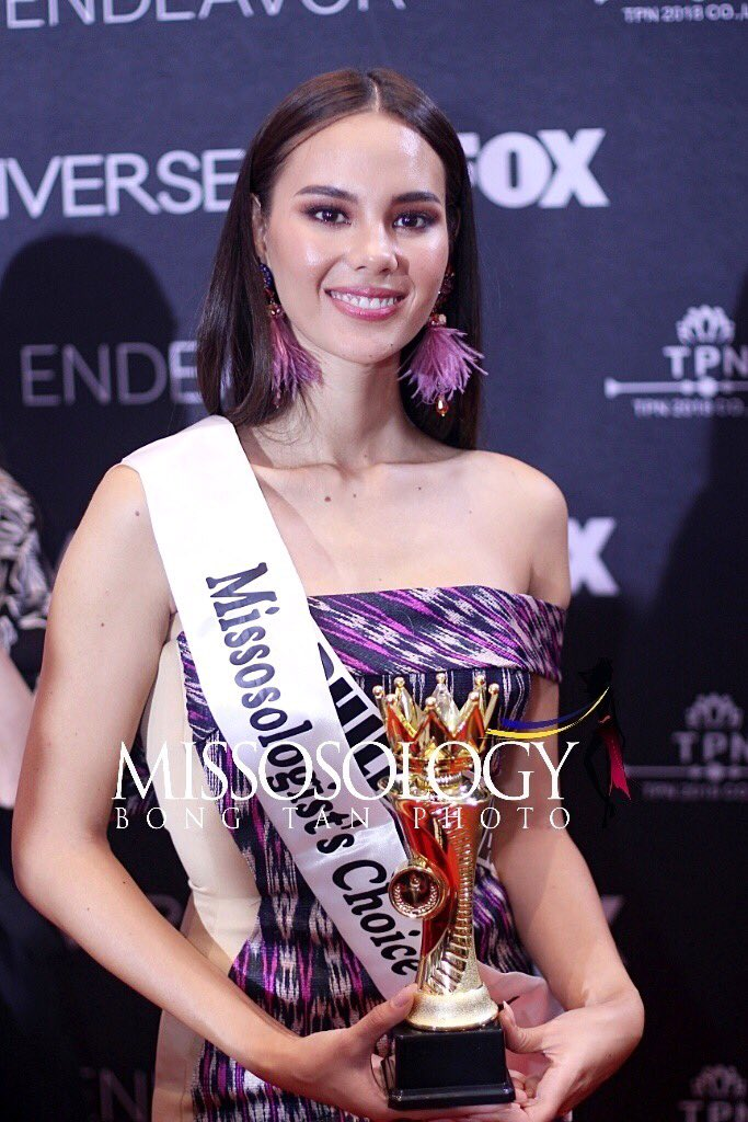 Miss Universe Philippines Catriona Gray is Missosology's top choice