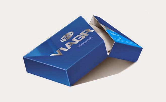 Viagra: Nuevo empaque y rediseño de logo