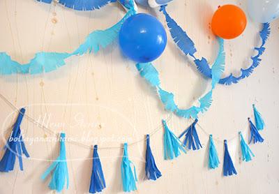 оформление дня рождения своими руками, оформление комнаты на день рождения